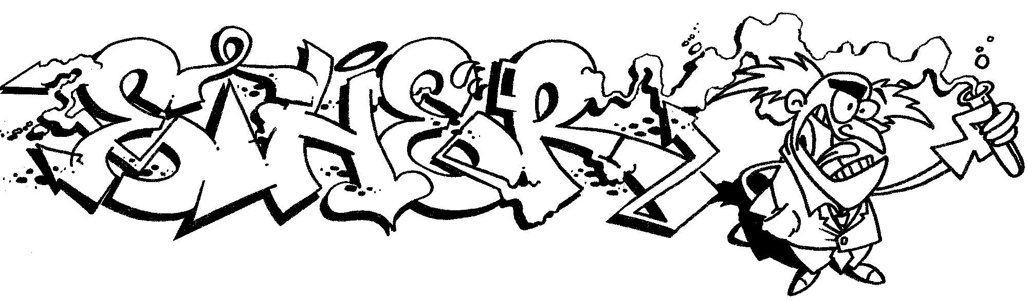 ... graffiti coloring kid safe huruf grafiti colouring pages gambar huruf