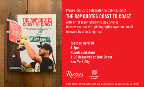 Rap Quotes – book release in New York City | Dokument Press